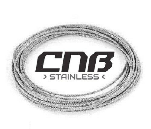 3mm Wire Rope Stainless Steel A4 Marine Grade 7x19 DIN3060