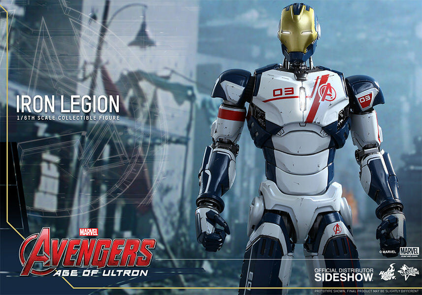 1 6 Avengers Age of Ultron Iron Legion Movie Masterpiece Hot Toys