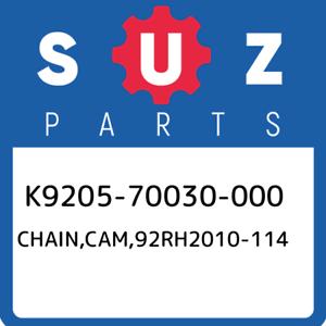 K9205-70030-000 Suzuki Chain,cam,92rh2010-114 K920570030000 New Genuine OEM Par