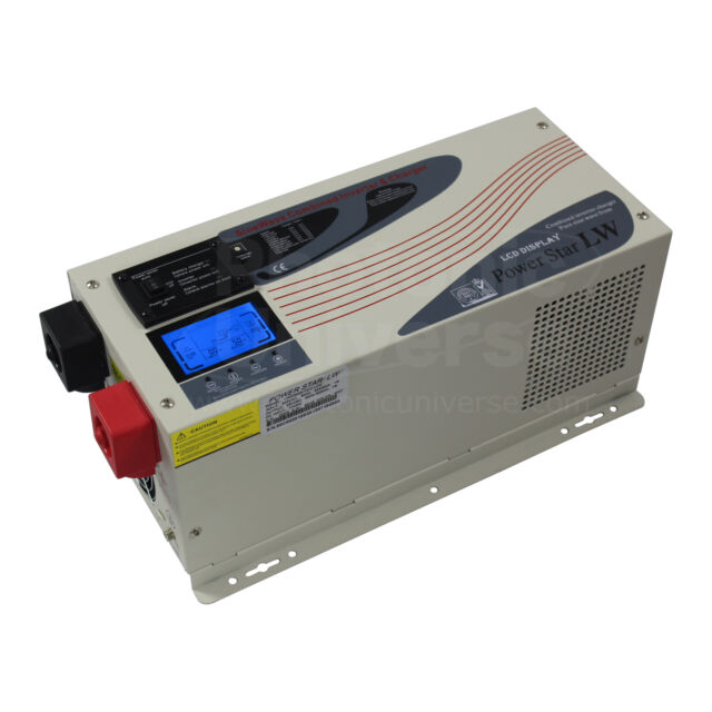 ** £100 SALE 20% DISCOUNT ** 3000W 24V low frequency inverter battery charger