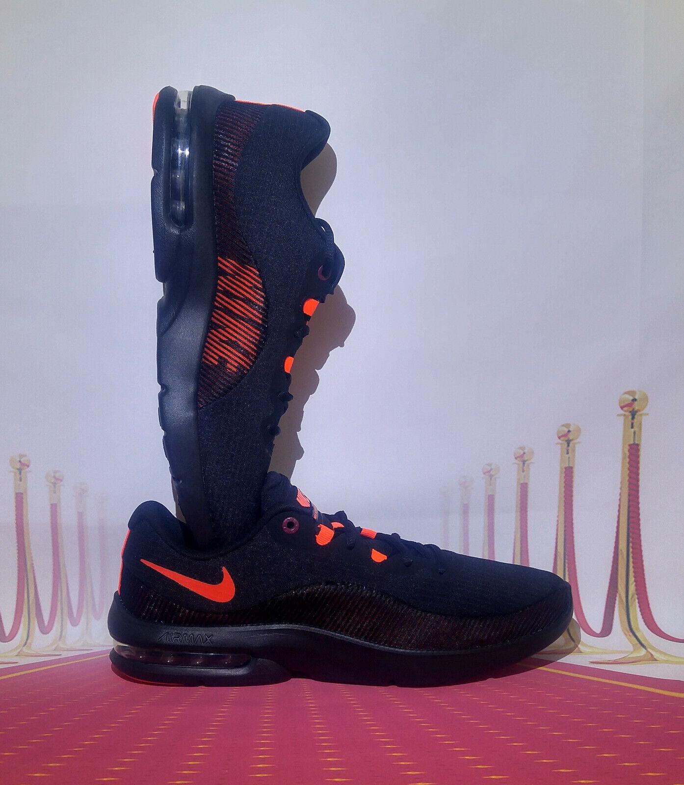 Nike Air Max Advantage 2 AA7396-004 Men's shoes Size 11 black orange NEW
