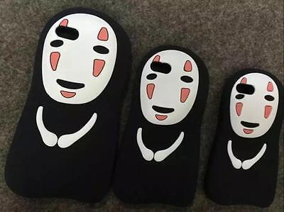 "3D No Face Kaonashi Soft Rubber Case Cover Apple iPhone5/5S/6 4.7""/6+ 5.5"""