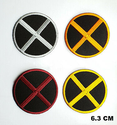X MEN Logo Suit Marvel Comic Movie Iron on Embroidered Patch Badge Logo