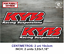 Sticker-Vinilo-Decal-Vinyl-Aufkleber-Adesivi-Autocollant-KYB-Racing-Suspensions miniatura 4