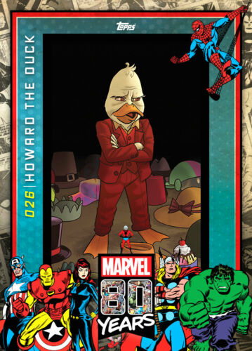 Topps Marvel Collect Howard the Duck #26 80 Years Celebration DIGITAL CARD 800c