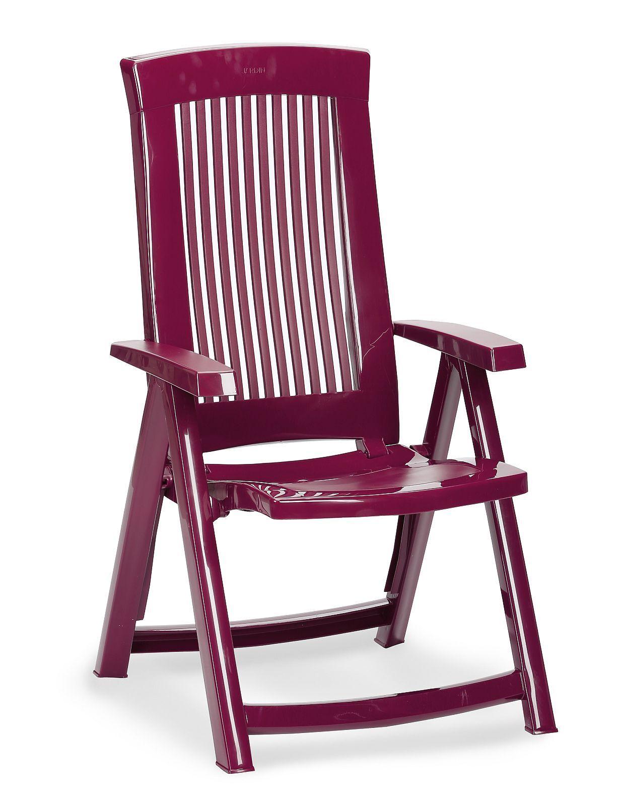 Gartenstuhl Gartenstuhl Gartenstuhl Hochlehner 5-fach verstellbar 6 Farben zusammenklappbar BF-Saola-K 04acf4