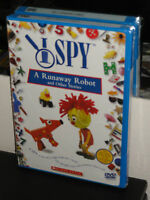 I Spy: A Runaway Robot And Other Stories (dvd) Hbo Family Dvd Brand