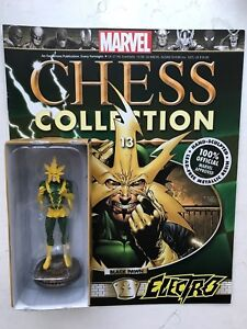 Eaglemoss Marvel Chess Collection Iusse  #13 Electro Magazine Only No Figure