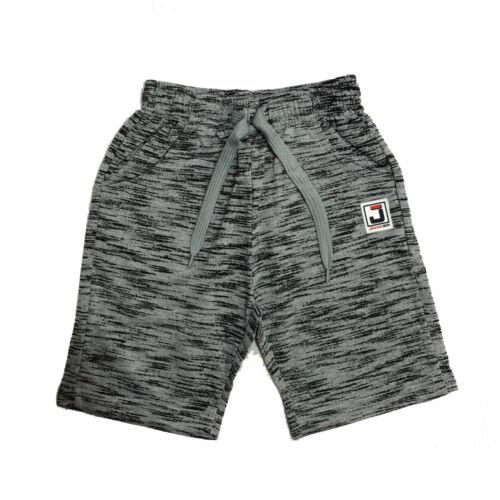 Boys Kids Shorts Fleece Pattern Summer Fashion Black Navy Grey