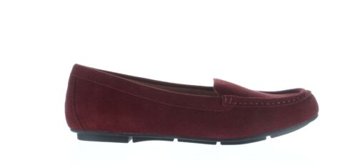 1638818 Wide Vionic Womens Chill Debbie Wine Loafers Size 10