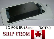 Back Plate Battery Housing Cover Glass Replacement for iPhone 4S WHITE iphone4S
