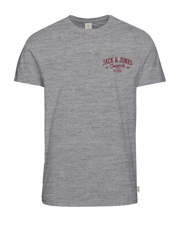 JACK & Jones Originaux T-shirt décontracté LOGO jorhowdy POITRINE T hommes jorhowdy LOGO b51169