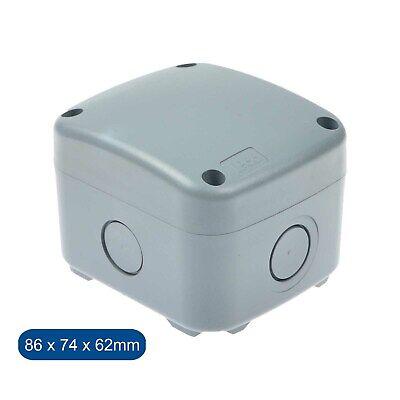 Weatherproof Ip66 Rated Junction Box Outdoor Exterior Garden Small Junction Box Ebay