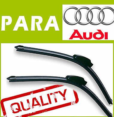 2 Escobillas Limpiaparabrisas Aerodinámico Flexibles para Audi Q5 2008-2013
