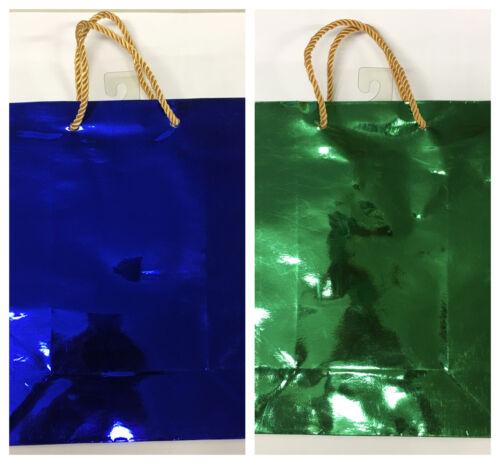 show original title Details about  /Christmas envelopes noel in paper metallic pouches gift bag 26x22 cm