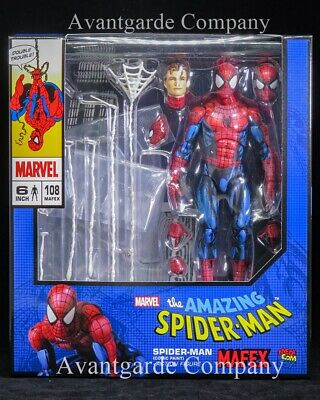 Mafex Amazing Spider-Man Action Figure Comic Paint 100/% Real Medicom Toy 108