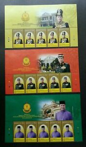 SJ-Malaysia-Installation-KDYMM-Sultan-Sallehuddin-Kedah-2018-stamp-title-MNH
