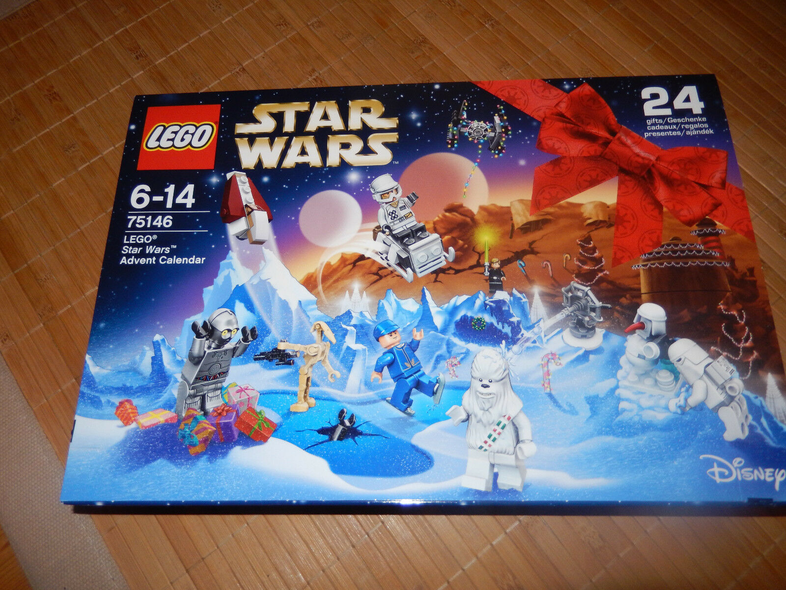 LEGO StarWars Adventskalender (75146) aus Jahr 2016 OVP sonst  AUSVERKAUFT