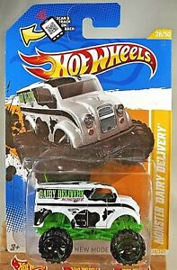 2012-Hot-Wheels-28-New-Models-28-50-MONSTER-DAIRY-DELIVERY-White-w-Black-OH6-Sp