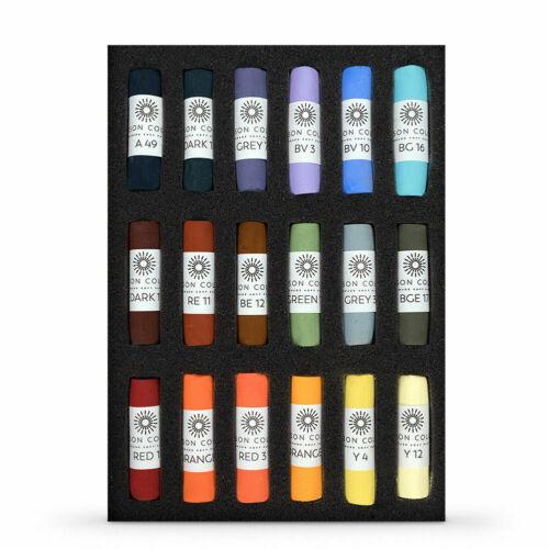 Les Darlow Landscape Set of 18 Unison Artists Pastel Box Set
