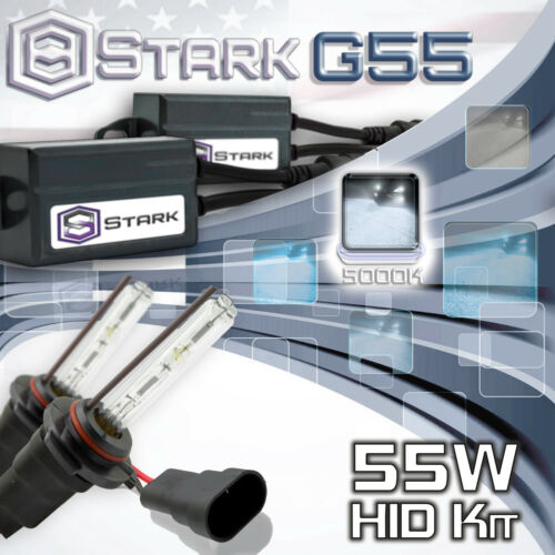 A Slim 55W Xenon HID Conversion Kit High Beam 5000K White 9005 HB3