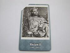 25 jedn.Poczet królów Polski Wacław II