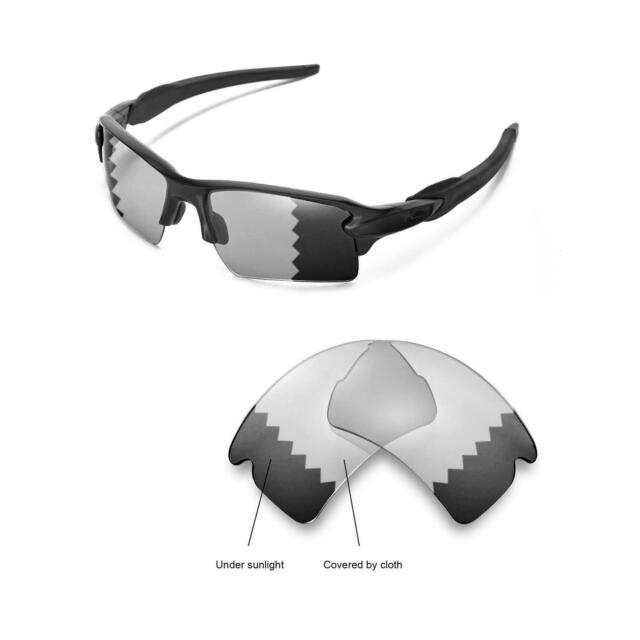 15f0d1876b538 New Walleva Polarized Transition Replacement Lenses For Oakley Flak 2.0 XL