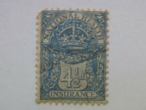 1 Mnh Uk National Health Insurance Revenue Stamp King George V Ebay