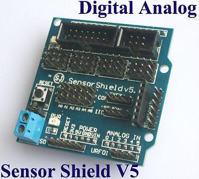 Sensor Shield V5 for Arduino UNO Mega R3 Support APC220 Bluetooth Arduino