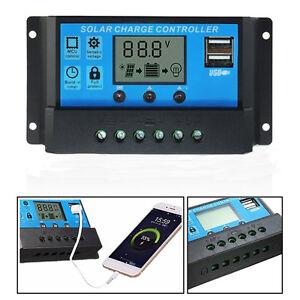 Dual-USB-10A-20A-30A-12V-24V-Solar-Panels-Battery-Charge-Controller-Regulator-EU