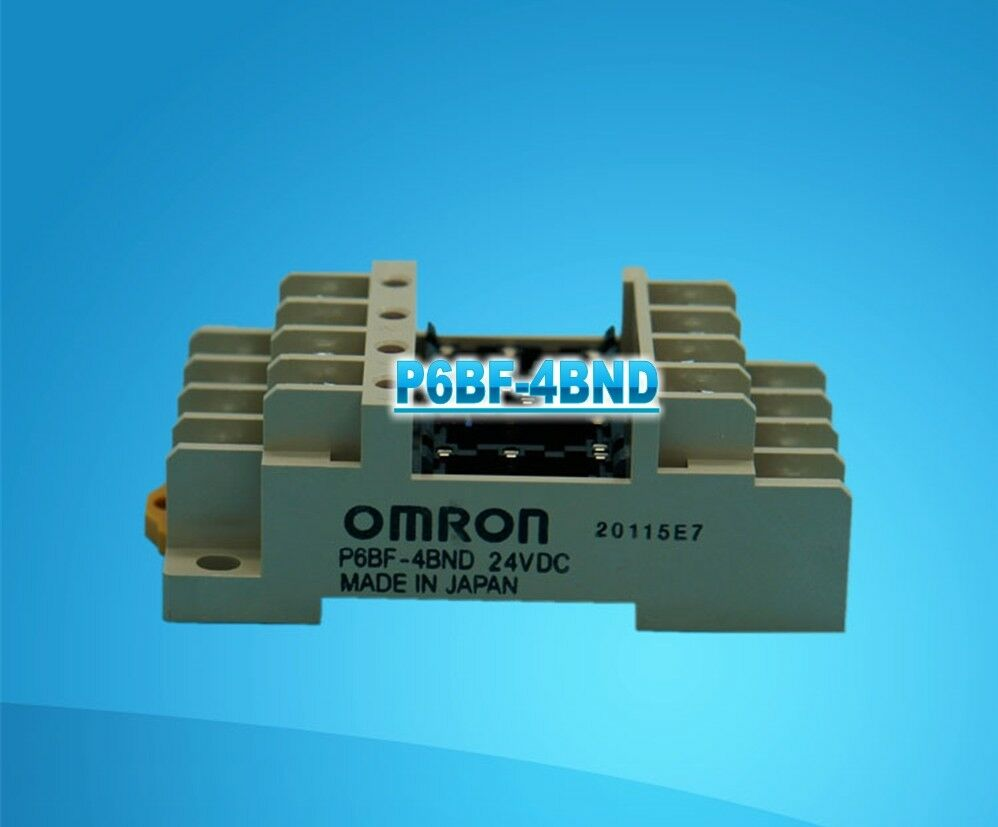 100% NEW Omron P6BF-4BND Industrial Relay IN BOX P6BF4BND
