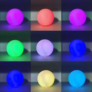 Small Colour Changing Led Light Up Ball Mood Lighting Decorative