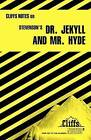 Notes on Stevenson's  Doctor Jekyll and Mr.Hyde by James L. Roberts (Paperback, 1984)