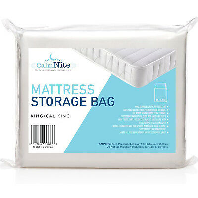 Queen Mattress Bag Storage and Moving Protector Tear Resistant Disposal Cover