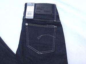 G-star-Raw-Denim-Size-26-26x32-Dark-Lynn-Skinny-Comfort-Legend-Jeans
