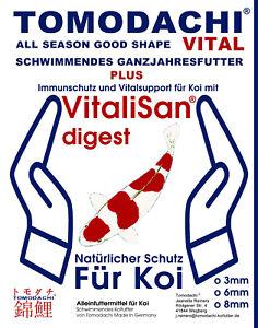 Koi Food, Aliments essentiels contenant des monoglycérides, Protection immunitaire, Koealth 3mm 10kg