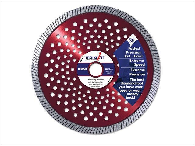 Marcrist 1202.0230.22 Natürlicher Diamant Klinge Präzision 230 x 22.2mm