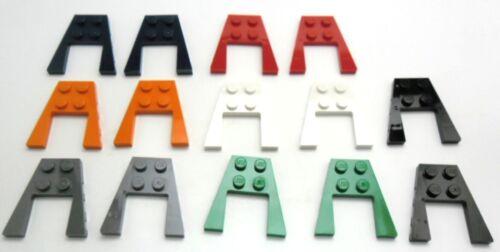 FARBAUSWAHL LEGO 2x Keilplatte Flügelplatte 4x4 Noppen 43719