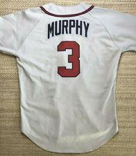 1993 Dale Murphy Atlanta Braves Game Used Jersey LOA Ned Yost teammate