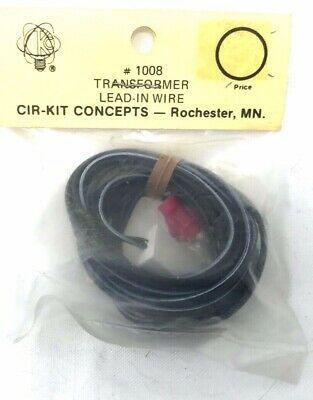 Cir-Kit Transformer Lead-In Wire With Switch Ck 1008-1 NOS
