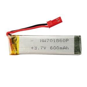 BATTERIA-LiPo-3-7V-600mAh-25C-701860-DRONE-UDI-U817-U818A-V959-V222-V929-S032