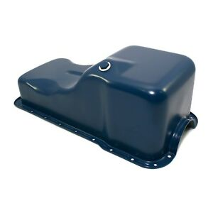 Dark-Blue-Front-Sump-Oil-Pan-SBF-302-Small-Block-Ford-Windsor-260-289-5-0