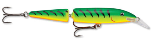 Rapala Jointed Balsa Wood Minnow Crankbait Bass Fishing Lure Jerkbait