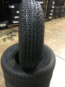 1 NEW ST205/75R14 Freedom Hauler Trailer Tires 8 PLY 205 75 14 ST 2057514 R14 ST