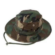 SHENGHUAJIE Outdoor Casual Combat Camo Ripstop Army Military Boogie Bush Jungle Sun Hat Cap Fishing Hiking