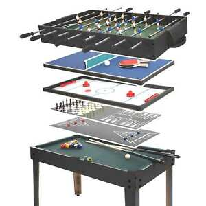 Calcetto-biliardino-hockey-pingpong-multiplayer-7-giochi-182x107x60cm