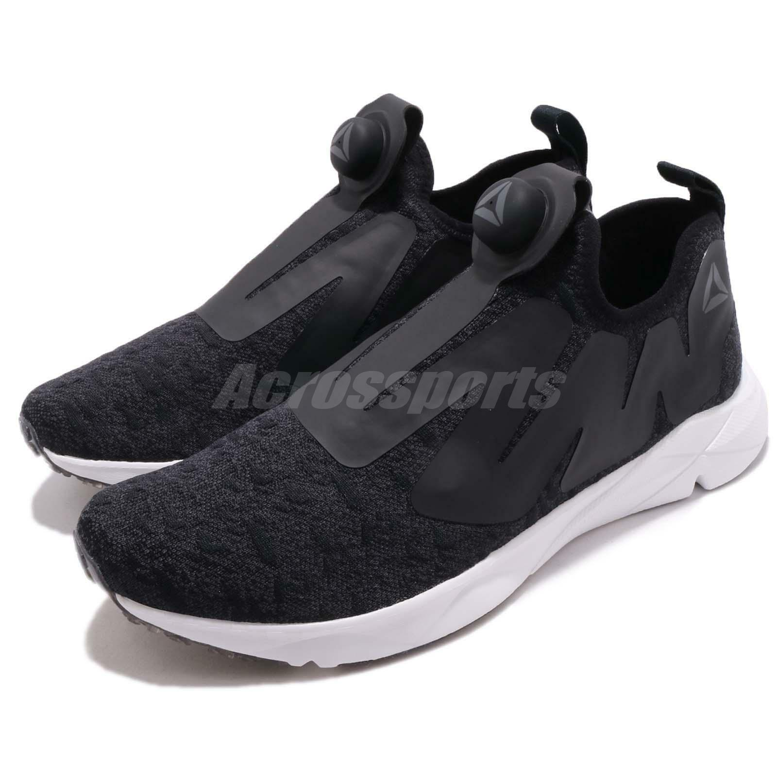 Reebok Pump Supreme Ice Noir Gris Blanc Men Running Chaussures Baskets CN2940