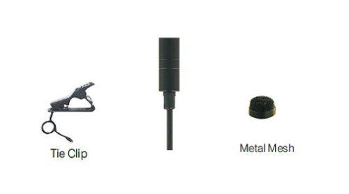 Professional NeckTie Lapel Mic Compatible with Sennheiser Transmitter EW100 300