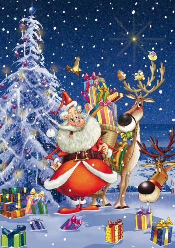 Piatnik Ruyer Happy Santa Jigsaw Puzzle 1000 Pieces