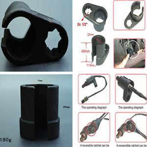 "Universal Oxygen Sensor Vacuum Switch Flare Nut Socket Tool 22mm 1//2/""Drive Black"